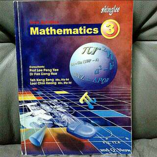 Mathematics Secondary 2, 3, 4