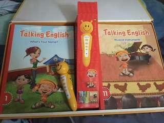 Talking English book for kids