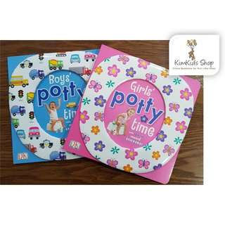 Potty training book - boys and girls
