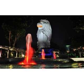 The Merlion Admission E-ticket - Singapore
