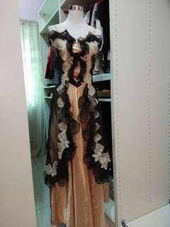 English dress for event