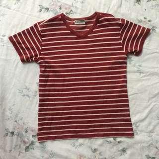 Giordano stripes tshirt