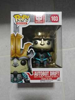 Funko Pop Autobot Drift