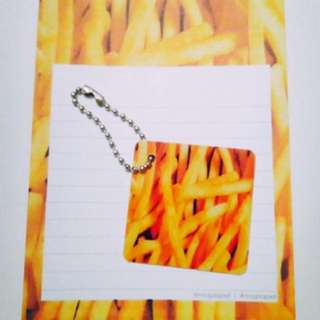 (FRIES) NOTEPADS FOR SALE