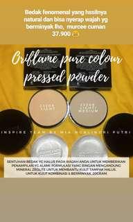 Pure colour pressed powder