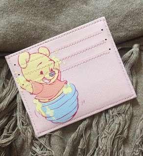 Custom Personalised Card Holder - Pooh