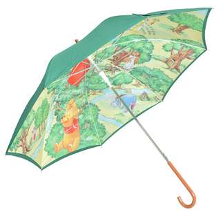Japan Disneystore Disney Store Pooh & Friends Forest Jump type Umbrella