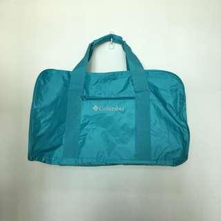 全新 Columbia 湖水藍色 淺藍 運動袋 兩用袋 手挽 側孭
