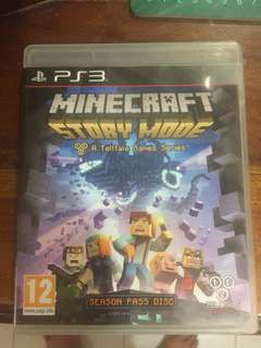 BD ps3 Minecraft bagus mulus normal