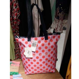 Lesportsac x Tsumori Chisato TC TOTE ORANGE DOT 2018 購物袋