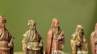 Miniatur dewa antik 6pcs