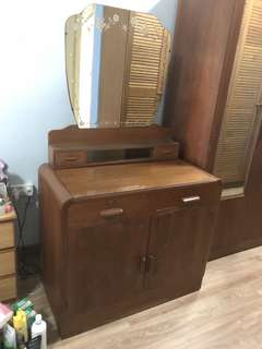 1960s Teak Dressing Table