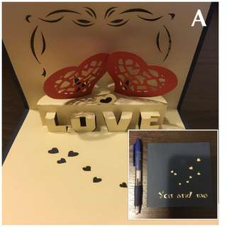 *Cute Assorted 3D Pop Up and Normal Greeting Cards*