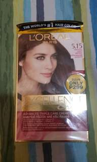 L'oreal Excellence Creme 5.15 frosted light brown hair color