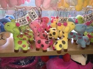 Ziraffe keychain/soft toy