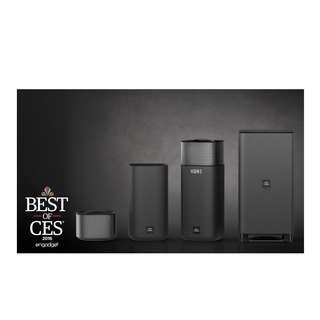 AWARD WINNING PHILIPS E 6 WIRELESS SURROUND SOUND SYSTEM