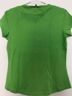 Green Top teen shirt