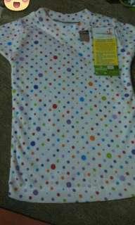 Baju Atasan Kaos Velvet Junior