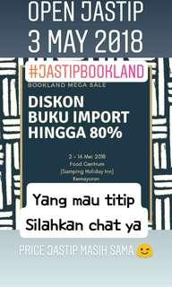 Jastip Bookland Mega Sale
