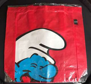 BN Smurf Recycle Tote Bag