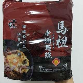 🚚 馬祖老酒麵1組(4包)