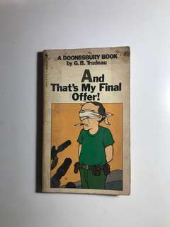 And That's My Final Offer Book