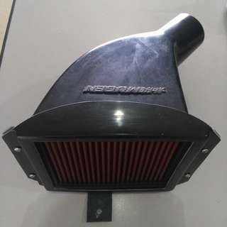 MUGEN TYPE POWER AIR BOX C/W DROP IN AIR FILTER