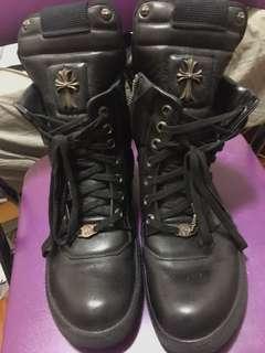 🚚 chrome hearts 克羅心 鞋子 經典logo運動鞋(正品、大安店購入)