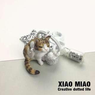 韓國超可愛貓咪鑰匙扣
