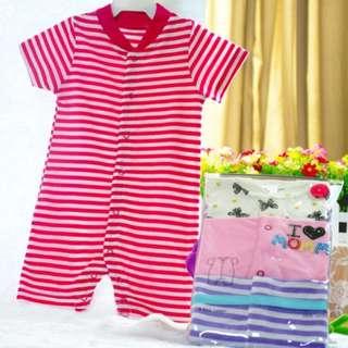 Bodysuits Set for Baby Girl
