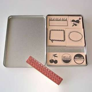 *FREE SF* Rubber Stamps by Glitz Design