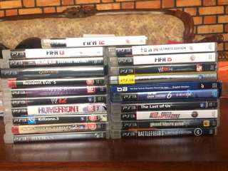 PS3 Used Game- RM 50 each