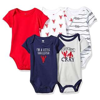 Hudson Baby Infant Cotton Bodysuits