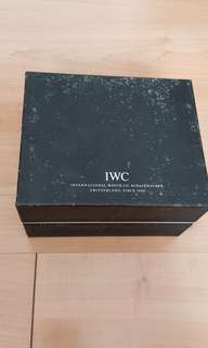 IWC watch box for sales