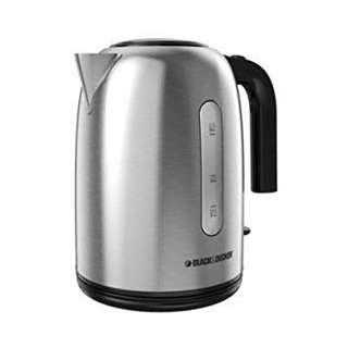 Black and Decker stainless steel water boiler kettle