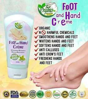 Foot and hand creme