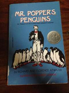 Mr Popper's Penguin book