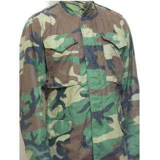 M-65美軍公發軍版U.S.ARMY叢林野戰迷彩夾克