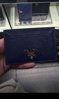 PRADA Vitello Card Holder