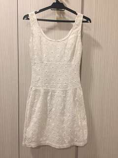 Jaspal white dress