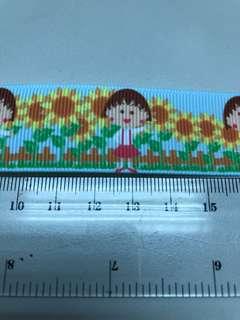 櫻桃小丸子織帶 2.6*100cm