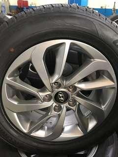 Hyundai 17X7 5X114.3