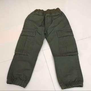 Kid cargo pants