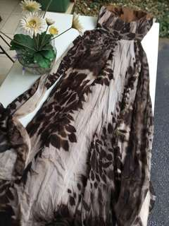 PURE SILK GOWN !!! EXCLUSIVE