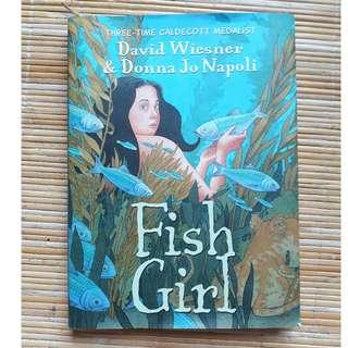 Fish Girl by David Wiesner  [Hardcover]