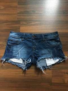 FACTORIE Denim Shorts in dark blue