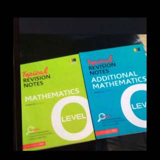 Topical Revision Note Mathematics/Additional Mathematics For O Level