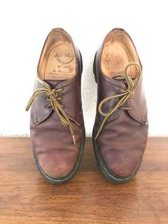 Vintage Doc Martens Low Oxfords 8UK Made in England