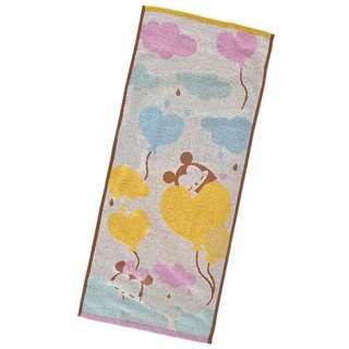 Japan Disneystore Disney Store Disney Ufufy Mickey & Minnie Mouse Heart Balloon Face Towel