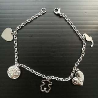 Money tree bracelet stainless steel